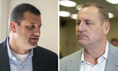 Rep. David Valadao (R-Hanford) and Rep. Jeff Denham (R-Turlock) side by side images