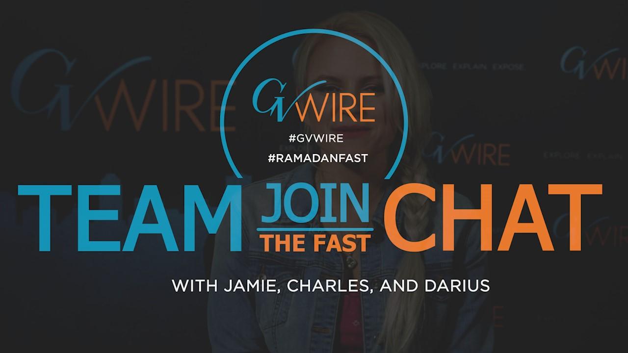 Logo for GV Wire's #RamadanFast