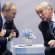 AP picture of Vladimir Putin, left, and Donald Trump