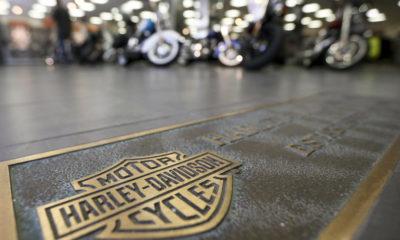 Photo of Harley-Davidson motorcycles