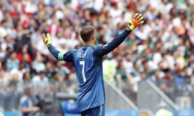 Photo of German goalkeeper Manuel Neuer during 2018 World Cup
