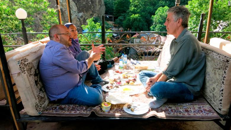 Anthony Bourdain in Iran