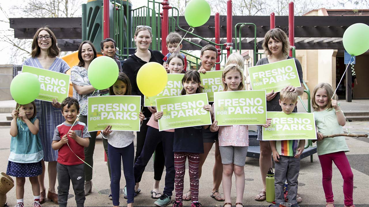Photo of Fresno for Parks supporters