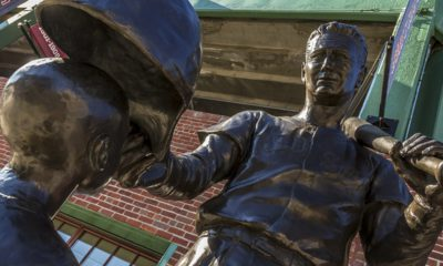 Photo of Ted Williams Statue