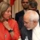 Photo of Iran nuclear pact negotiators