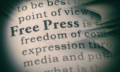 """The words """"free press"""""""