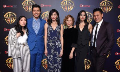 Photo of Crazy Rich Asians Cast at CinemaCon 2018
