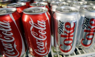 Photo of Coca-Cola cans