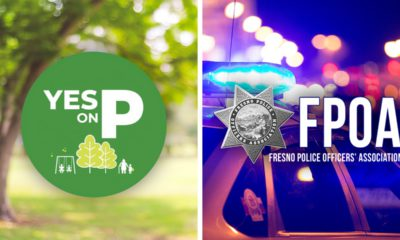 Photo combo of Yes on P logo and FPOA logo