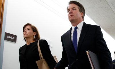 Photo of Brett Kavanaugh and his wife