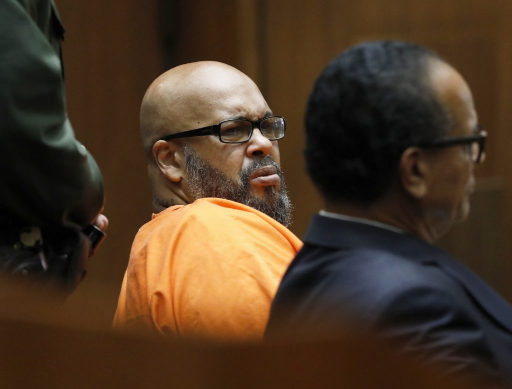 Photo og Suge Knight in court