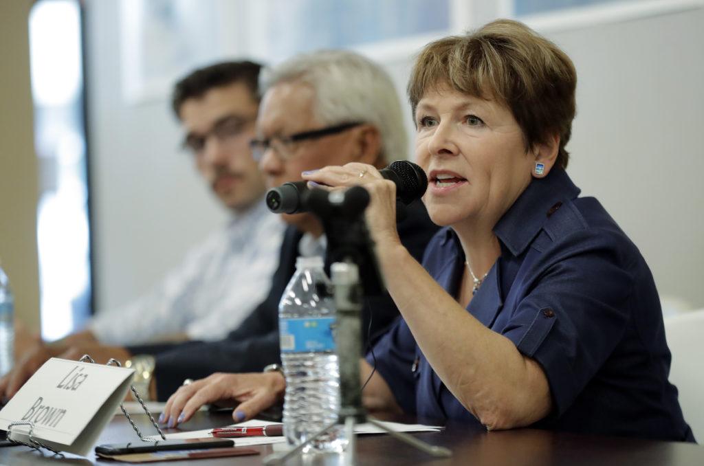 Photo of Democratic challenger Lisa Brown