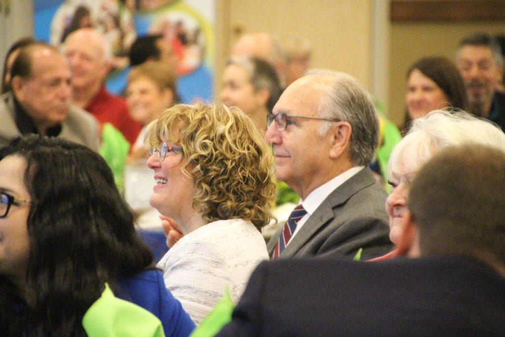 Photo of Clovis Community College President Lori Bennett and Fresno Mayor Lee Brand
