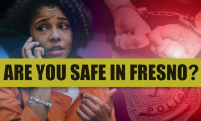 Photo montage of public safety issues in Fresno