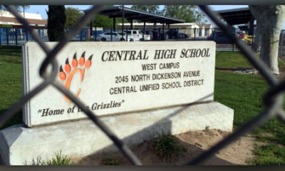 Photo of marquee at Central High West.
