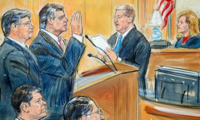 Sketch from Manafort trial