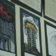 Photo of 9/11 art at McLane High School in Fresno