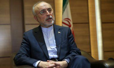 Photo of Iran's nuclear chief Ali Akbar Salehi