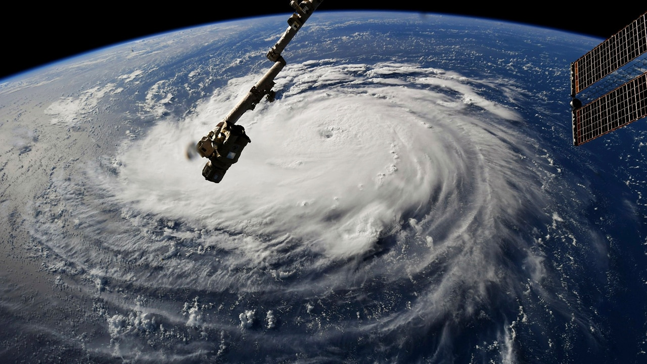 Photo of Hurricane Florence from the International Space Station
