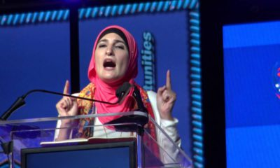 Photo of controversial liberal activist Linda Sarsour