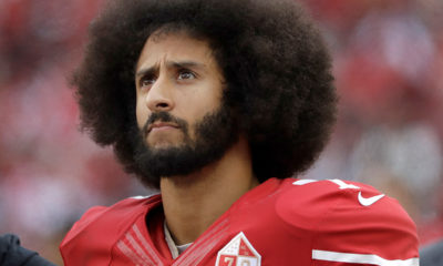 Photo of Colin Kaepernick during a San Francisco 49ers game in 2016