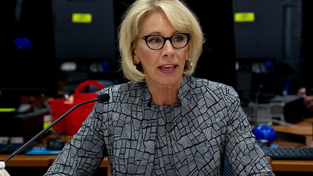 Photo of Education Secretary Betsy DeVos