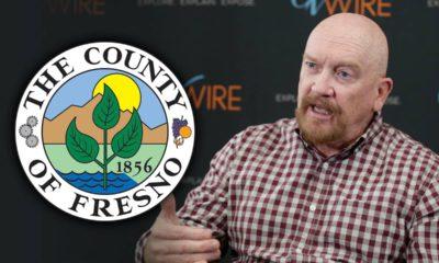 Photo of Steve Brandau with Fresno County logo superimposed