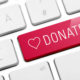 Photo of a donate button