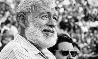 Photo of Ernest Hemingway in Nov. 1960