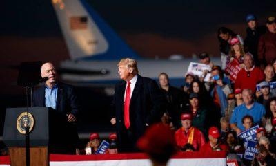 Photo of Rep. Greg Gianforte and President Donald Trump