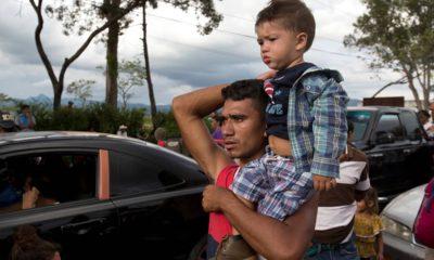 Photo of Honduran migrants