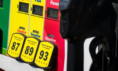 Photo of a gas pump