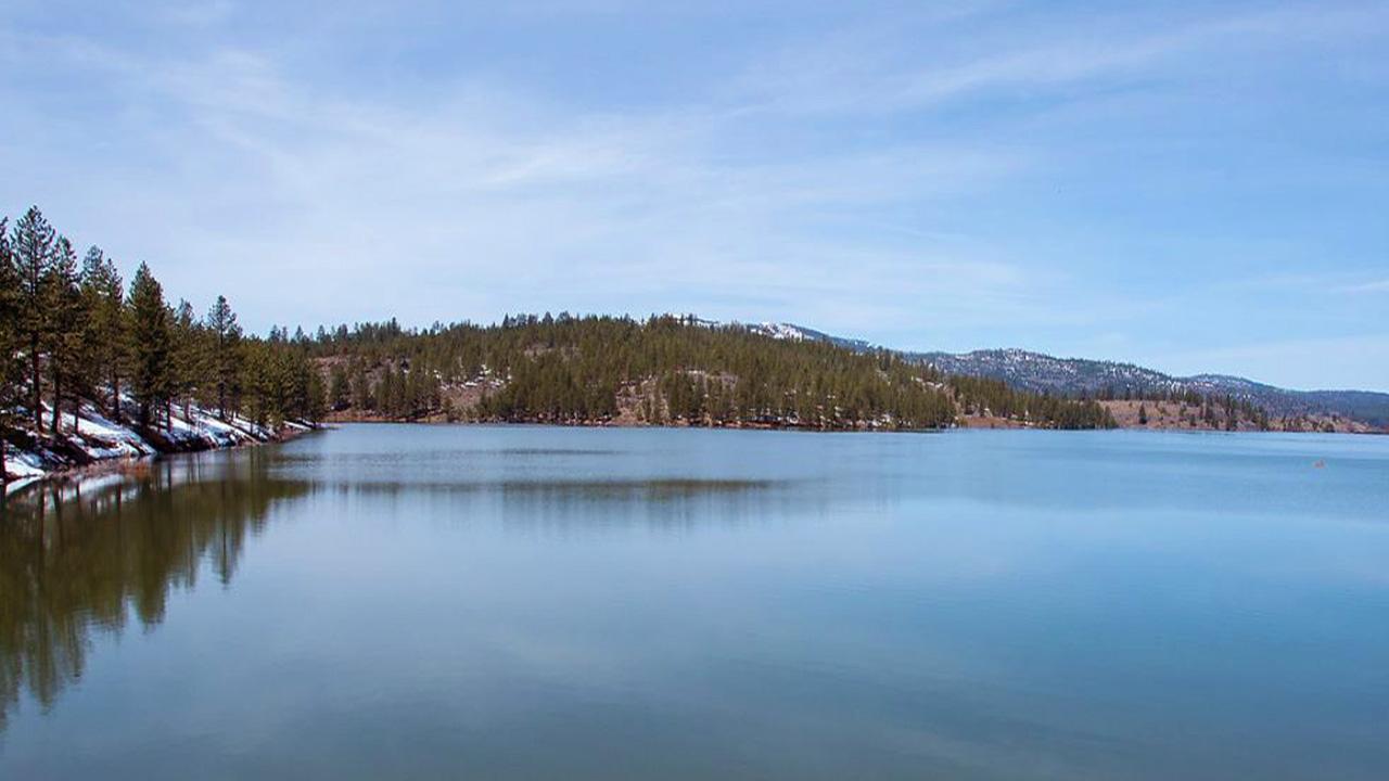 Reservoir in California