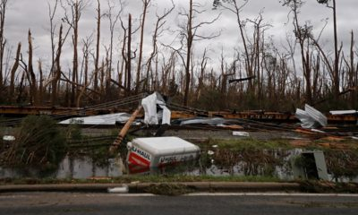 Photo of Hurricane Michael destruction