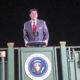 Photo of Ronald Reagan hologram