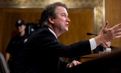 Photo of Brett Kavanaugh in court