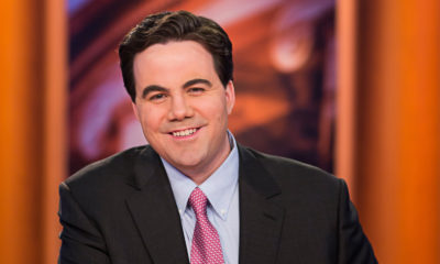 Photo of Robert Costa on the PBS set