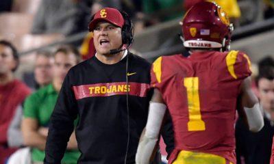 Photo of USC coach Clay Helton
