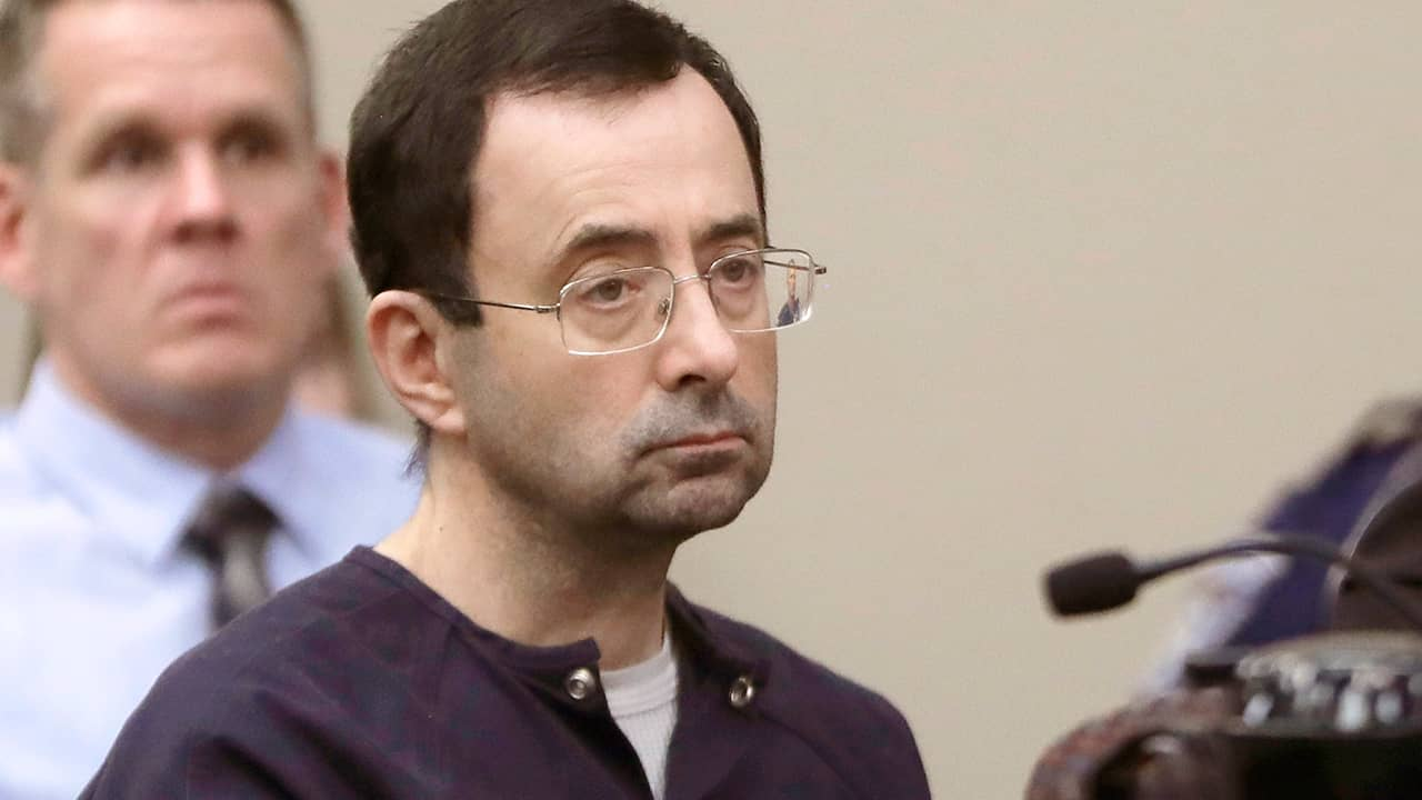 Photo of Larry Nassar in court
