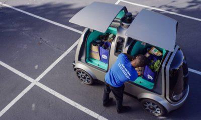 Photo of an autonomous vehicle called the R1