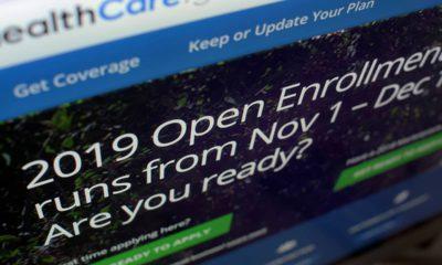 Photo of HealthCare.gov website