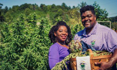 Photo of hemp farmers in Liberty, NC