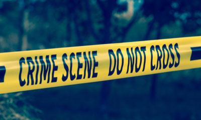 Photo of yellow crime scene tape