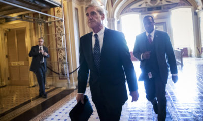 Photo of special counsel Robert Mueller