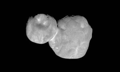 Photo of the Kuiper belt object Ultima Thule