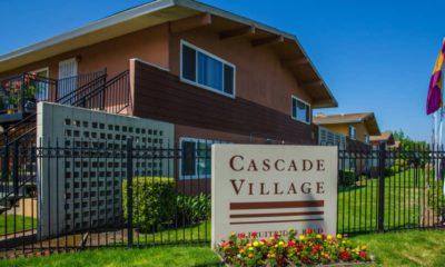 Photo of the front of Cascade Village in Sacramento, Ca