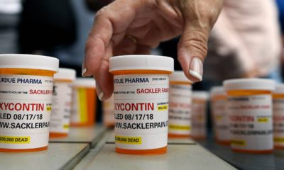 Photo of bottles of OxyContin