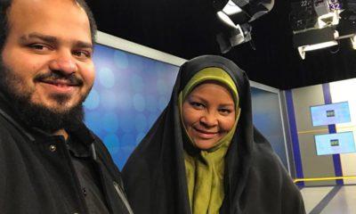 Photo of American-born news anchor Marzieh Hashemi