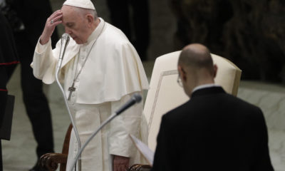 Photo of Pope Francis at the Vatican