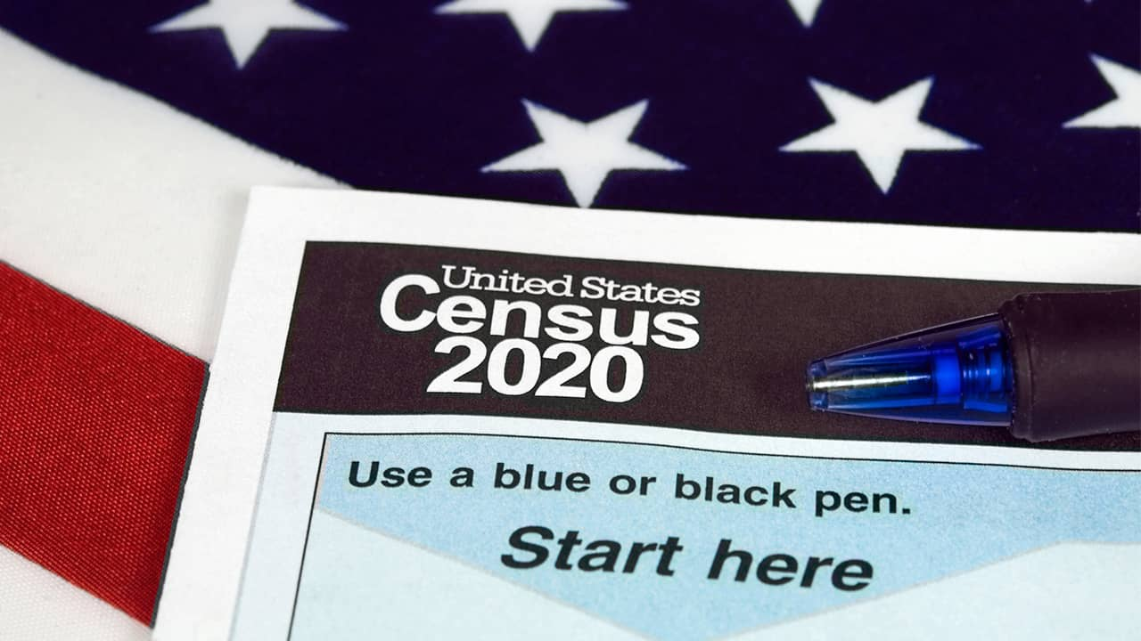 Photo of the 2020 Census